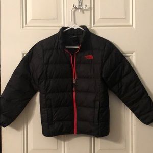 Boys North Face puffer jacket